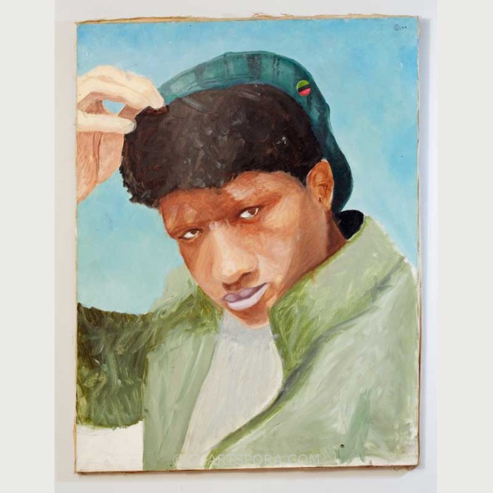 Teen with Cap, artist unknown