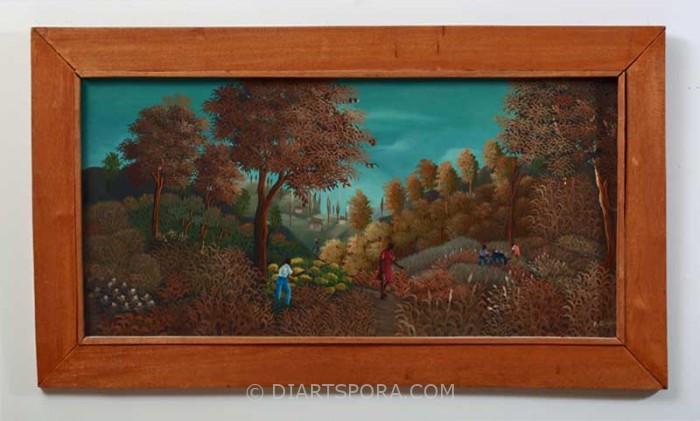 Haitian Landscape by Fabolon Blaise