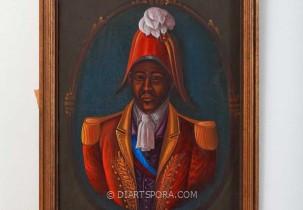 Red Hat General Portrait by St. Louis Blaise