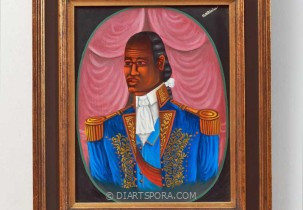 Portrait of a General by Serge Moleon Blaise