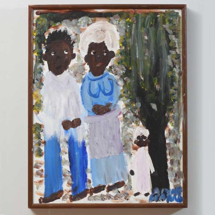Folk Art Family