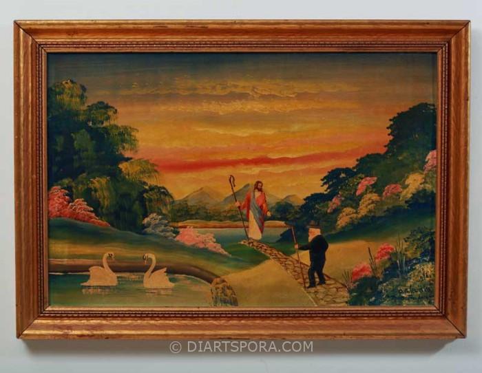 Jesus on a Bridge by O.G Lewis - The Gospel Artist