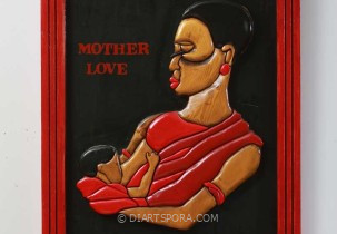 Mother Love (Prison Art)