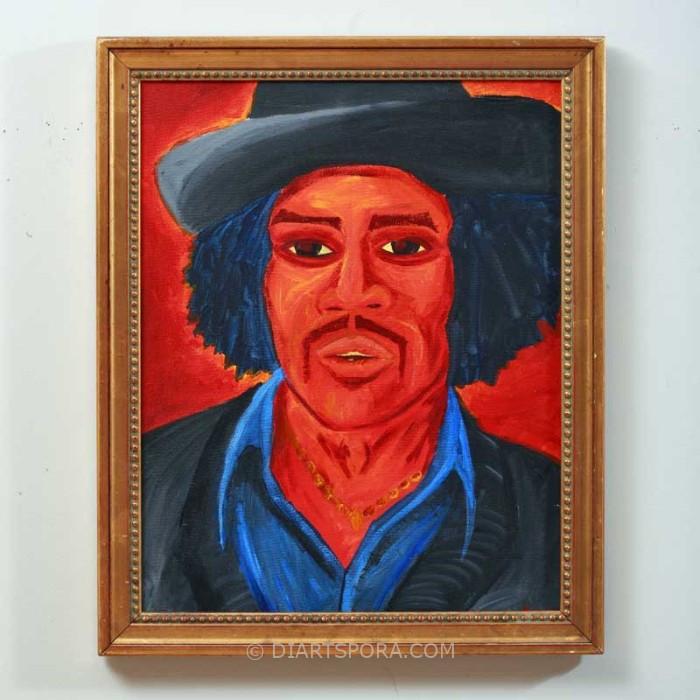 Jimi Hendrix by Allgeter