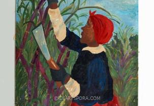 Caddie In The Cane Field
