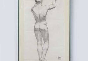 Rearview Nude by Munro
