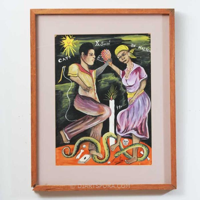 Voodoo Couple Dance: Cati Ya Sone De Malheur