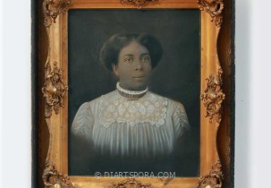 Black Victorian Woman Photograph