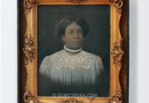 Black Victorian Woman Photograph