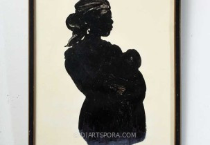 Mother & Child Silhouette