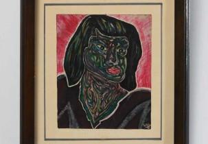 Woman in Green by Lobo