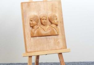 Triple View of a Woman