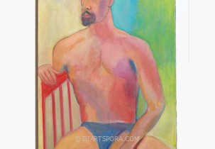 Seated Man with Goatee