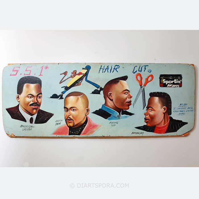 Barbershop Sign Hairstyles