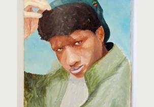 Teen with Cap, artist unknown