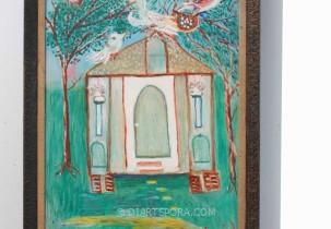 Bird House by Lucinda Johnson