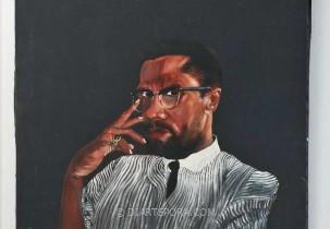 Malcolm X by David Ramsey