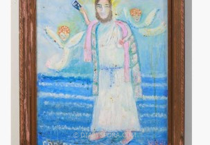 Jesus on the Water by Lucinda Johnson