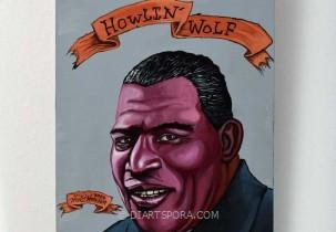 Howlin' Wolf by Mr. Hooper