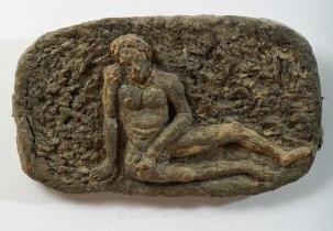 Reclining Nude Bas Relief by Lobo