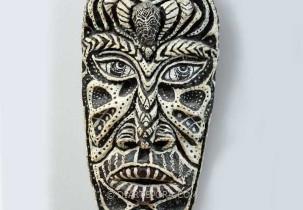 Two Head Man Mask by Lobo