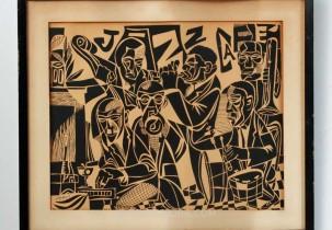 Jazz Cafe by Robert Doney