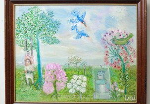 Garden of Delights by Lucinda Johnson